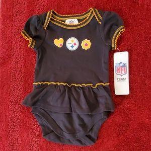 Infant Steelers onesie